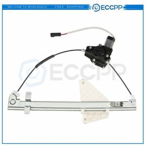 Power Window Regulator For 2001 2004 Jeep Grand Cherokee Rear Left With Motor