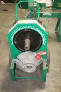 Greenlee 555 Electric Conduit Bender Working