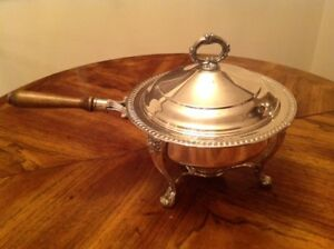 Silver Chafing Dish Silver Plated