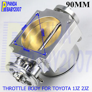 3 5 90mm High Flow Throttle Body Of Toyota 1jz 2jz Free Shiipping To Usa Sl