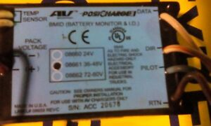 Posi Charge Battery Monitor I d 08661 36 48volt Good Used