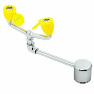 Speakman Stainless Laboratory Table Top Safety Eyewash Station Deck Mount Faucet