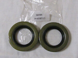 Rockwell 2 5 Ton Axle Tube Seals 2 Pieces M35 M109 Military Truck