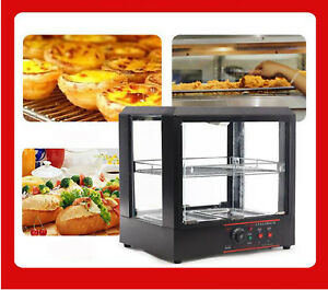 Food Pizza Warmer Display Cabinet Acrylic Case For Restaurant And Commercial