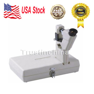 Portable Optometric Optical Lensometer Focimeter Equipment Battery Powered Us