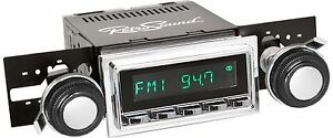1968 1971 Ford Torino Ranchero Radio Stereo Retrosound Usb Aux Ipod Bluetooth
