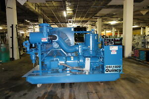 1996 Quincy Qsi 1500 300 Hp Rotary Screw Air Compressor