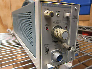Tektronix Am 503 Current Probe Amplifier With Tm 501 Power Module W Opt 02