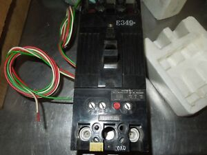 Ge Circuit Breaker Tfk226125wl 125a 2p 600v W Auxiliary Switch Surplus In Box