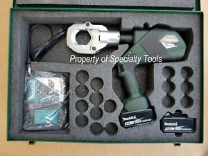 Greenlee Gator Esg50lx Battery Hydraulic Cable Cutter Wire Cutting Tools Demo