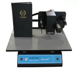 New 3050a Digital Version Gold Foil Stamping Machine Printer