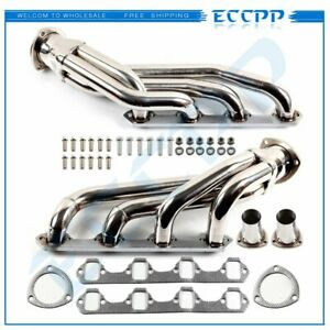 For 63 77 Mustang Cougar V8 260 302 5 0 Stainless Steel Header Exhaust Manifold