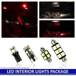 Red Led Interior Lights Package Fits Jeep Grand Cherokee 2011 2014