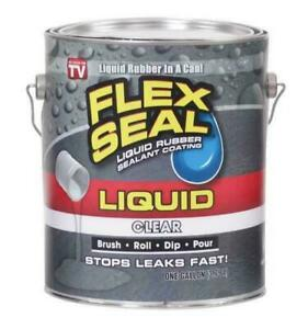 Flex Seal Lfsclrr01 One Gallon Clear Liquid Rubber Sealant