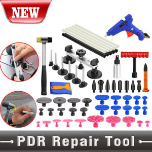 Car Body Panel Paintless Hail Dent Removal Repair Tools Puller Lifter Tap Down