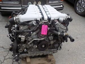 2006 Bentley Flying Spur Engine V 12 6 0 Twin Turbo 40k Miles Must Have Core