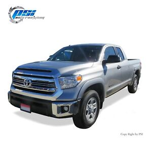 Black Paintable Oe Style Fender Flares 2014 2020 For Toyota Tundra Complete Set
