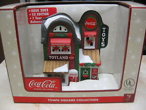 COCA COLA TOWN SQUARE TOY SHOP - 1ST EDITION - ONE YEAR RELEASE - ISSUED 2003