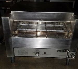 Holman Conveyor Oven Model B714h Stainless Steel 120 Volts