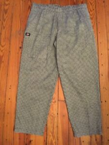 Size 18 Dickies Chef Pants Baggy Women s Hospitality New Nwot Pants Elastic Wai