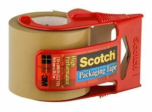 Scotch Packaging Tape High Performance Ea pack Of 12