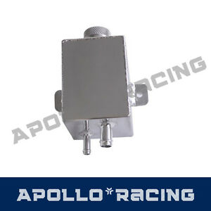 Aluminum Radiator Expansion Coolant Overflow Tank Can Bottle Universal New