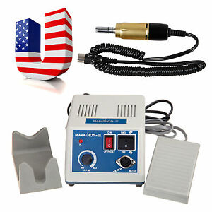 Usa Dental Lab N3 Marathon Micromotor With Electric Motor 35000 Rpm Gold