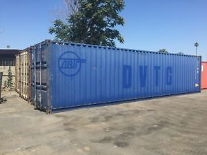 40 High Cube Shipping storage Container Containers Cargo los Angeles