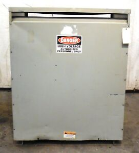 Isolation Transformer Unknown Brand Estimated 300 Kva 480 Vac