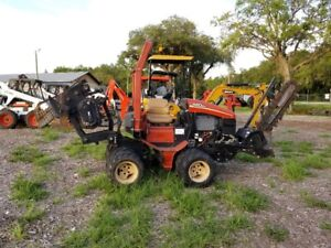 Ditch Witch 420sx Ride On 4x4 Trencher Vibratory Plow Hydra Bore Unit