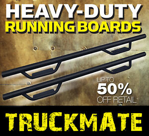 Foot Rail Fit 15 21 Chevy Colorado Crew Cab Running Boards Nerf Bars Side Steps