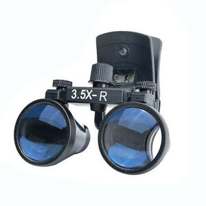 3 5x Dental Surgical Glasses Loupe Magnifier Clip On Style Dy 110 280mm 380mm