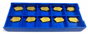 10 Pcs Indexable Inserts Grooving Gtn 4 For Iscar Sharp Sword New And Sealed