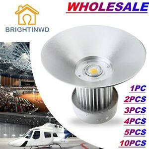Lot 30pcs 100w Led High Bay Warehouse Light Super Bright White Fixture Factory