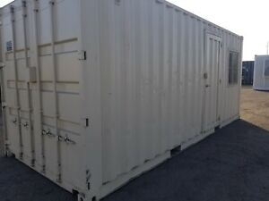 20 Office Container W 10 Storage Shipping cargo Containers fresno
