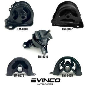1996 2000 Honda Civic 1 6l Engine Motor Transmisson Mounts Set Of 5 Pcs