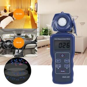 Lcd Digital Formaldehyde Detector Ch2o Gas Quality Humidity Measurement Tester