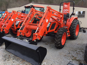 Kioti Rx7320 4wd Tractor With Front End Loader And Power Shuttle