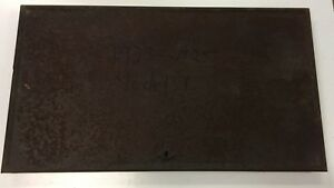 1923 1924 1925 Ford Model T Rear Deck Lid For Restore No Rust Through
