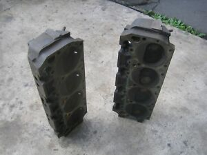 Mopar Chrysler Plymouth Dodge 383 440 Engine Cylinder Heads 516 Closed Chamber