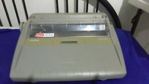 Brother Sx 4000 Electric Typewriter Daisy Wheel Ribbon Works