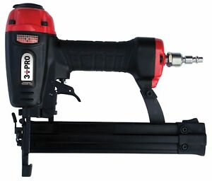 3 Pro F32 9032p 18 Combination Staple nailer 3 8 1 1 4 inch Long Black red