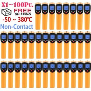 qty 1 100 Temp Gun Non contact Infrared Ir Digital Thermometer 58 626f Oy