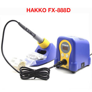 Hakko Fx 888d Digital Display 70w Soldering Iron Station Esd safe With Fx8801