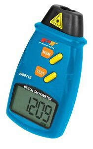 Performance Tool W89719 Professional Digital Laser Lcd Tachometer Non contact
