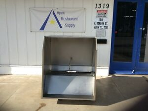 42 Commercial Gaylord Vent Hood Restaurant Exhaust Hood System 2798