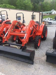 Kioti Dk5510 Utility Tractor With Loader