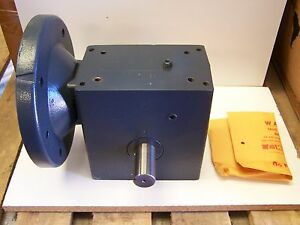 Hub City Model 264 Right Angle Double Output Shaft Gearbox 10 1 Ratio 0220 77793