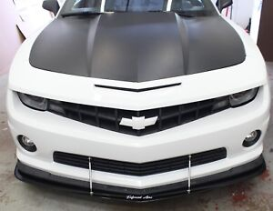 2010 2013 Camaro Rs Ss Front Lip Splitter W No Support Rods Enforced Aero