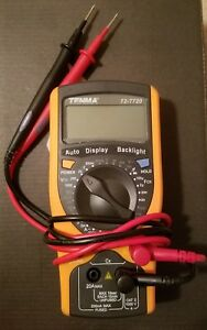 Tenma 72 7720 Handheld Digital Multimeter 3 1 2 Digit very Lightly Used